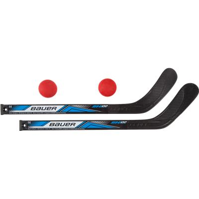 a6cc602388b Two Stick Set (Bauer Two Mini Sticks w  Two Balls)