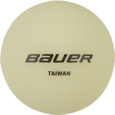 (Bauer Glow In The Dark Hockey Ball)