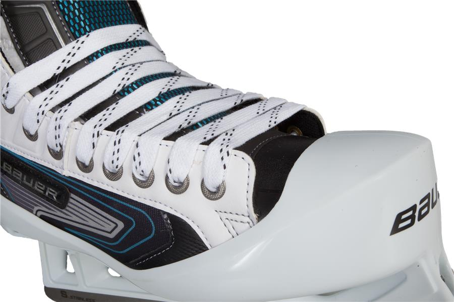 437c953ee2d Front Three Quarters View (Bauer Reactor 7000 Goalie Skates - Junior)
