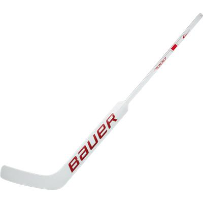 White/Red (Bauer Reactor 7000 Foam Core Goalie Stick)