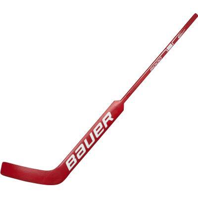 Red/White (Bauer Reactor 5000 Wood Goalie Stick)