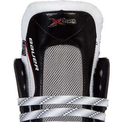 Tongue View (Bauer Vapor X500 Ice Hockey Skates - Junior)