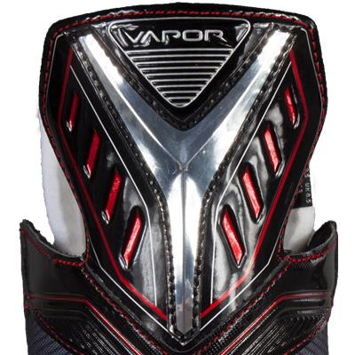 Zoomed Back View (Bauer Vapor X500 Ice Hockey Skates - Junior)