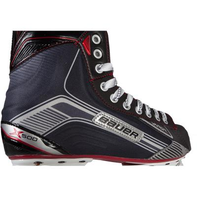 Boot View (Bauer Vapor X500 Ice Hockey Skates)