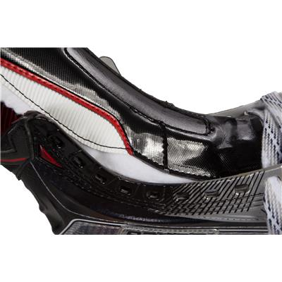 Tongue View (Bauer Vapor 1X Ice Hockey Skates - Junior)