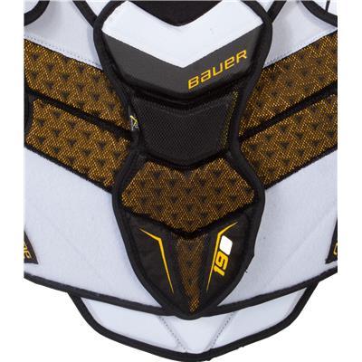 Sternum Protection (Bauer Supreme 190 Shoulder Pads)