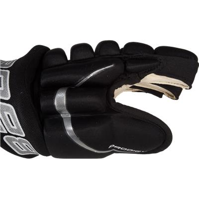 Thumb/Side View (Bauer Prodigy Hockey Gloves)