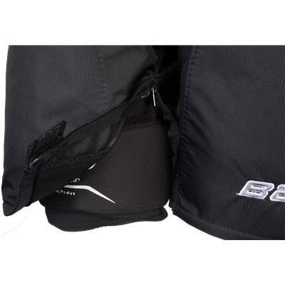 Zipper View (Bauer Supreme 190 Hockey Pants)