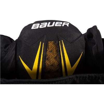 Bauer Logo (Bauer Supreme TotalOne MX3 Hockey Pants)