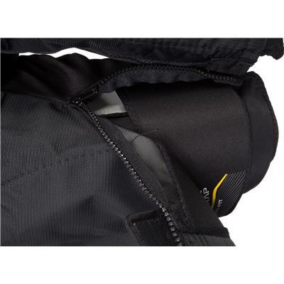Zipper View (Bauer Supreme TotalOne MX3 Hockey Pants)