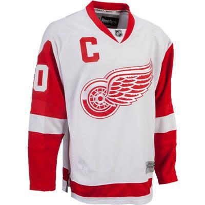 Detroit Red Wings (Reebok Henrik Zetterberg Detroit Red Wings Premier Jersey - Away/White - Youth)
