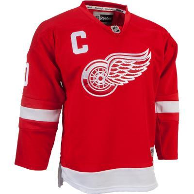 Detroit Red Wings (Reebok Henrik Zetterberg Detroit Red Wings Premier Jersey - Home/Dark - Youth)