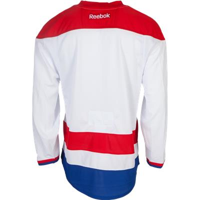 Back View (Reebok Washington Capitals Authentic Jersey - Away/White)