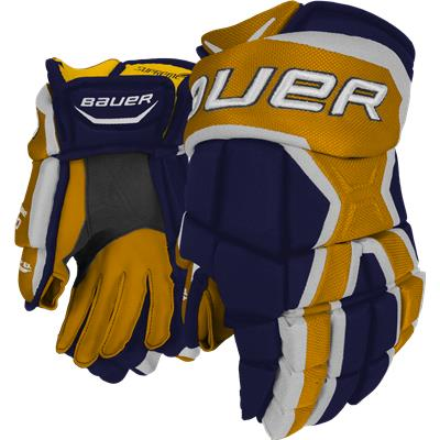 Navy/Gold (Bauer Supreme 190 Gloves)