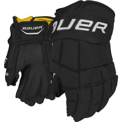 Black (Bauer Supreme 190 Gloves)