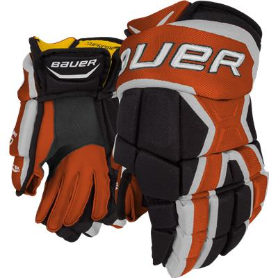 Black/Orange (Bauer Supreme 190 Gloves)