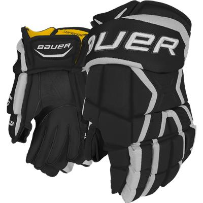 Black/White (Bauer Supreme 190 Gloves)
