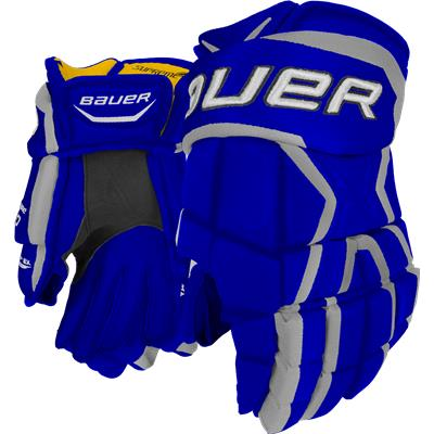 Blue (Bauer Supreme 190 Gloves)