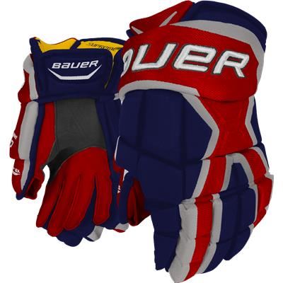 Navy/Red/White (Bauer Supreme 190 Gloves)