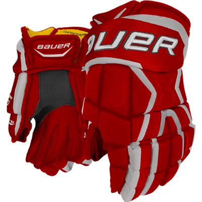 Red (Bauer Supreme 190 Gloves)