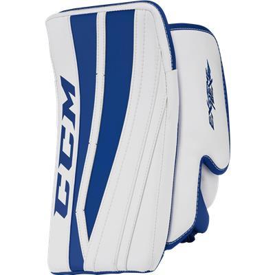 White/Royal Blue (CCM Extreme Flex II Pro Goalie Blocker - Senior)