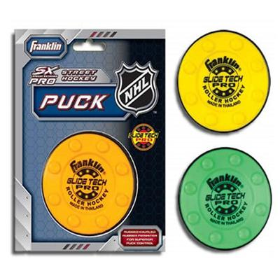 (Franklin Glide Tech Street Hockey Puck)