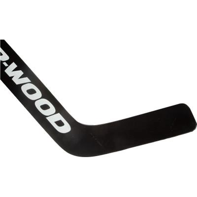Forehand View (Sher-Wood 9950 SOP Foam Core Goalie Stick)