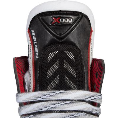 Tongue View (Bauer Vapor X800 Ice Hockey Skates - Junior)