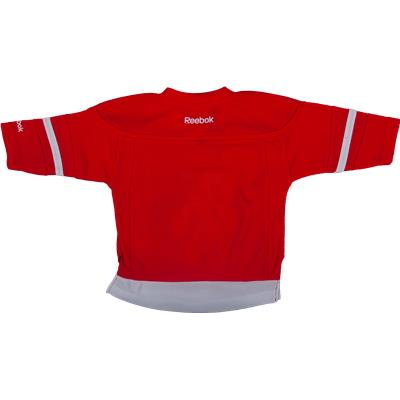 (Reebok Detroit Red Wings Replica Home Jersey)