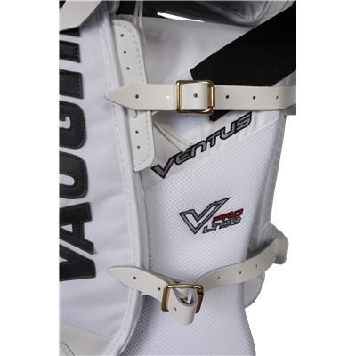Back Straps (Vaughn Ventus LT98 Pro Goalie Leg Pads)