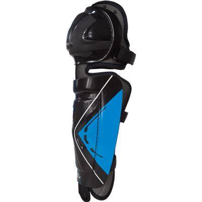 Side View (Bauer Street Hockey Shin Guards - Senior)