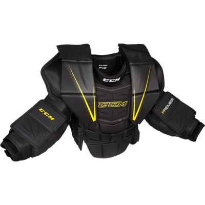 Black/Yellow (CCM Premier Pro Goalie Chest And Arm Protector - Senior)