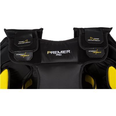 Neck Protection (CCM Premier Pro Goalie Chest & Arms)
