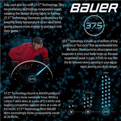 37.5 Technology Information (Bauer Elite Padded Long Sleeve Shirt - Adult)