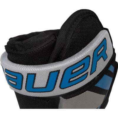 Backhand Cuff View (Bauer Street Hockey Pro Player Gloves)