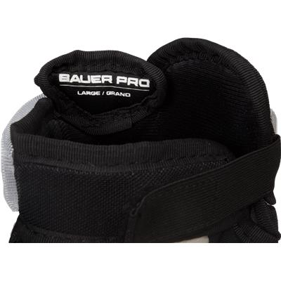 Front Cuff View (Bauer Street Hockey Pro Player Gloves)