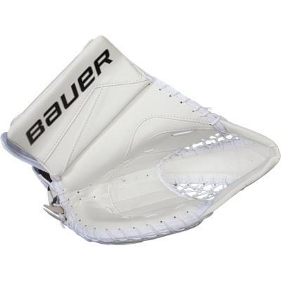 White (Bauer Reactor 7000 Goalie Catch Glove)
