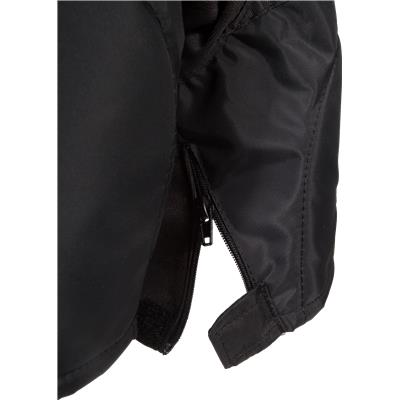 Zipper View (Bauer Supreme TotalOne MX3 Hockey Pants)