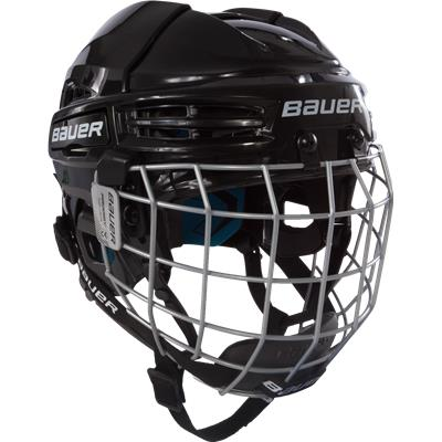 Black (Bauer Prodigy Hockey Helmet Combo - Youth)