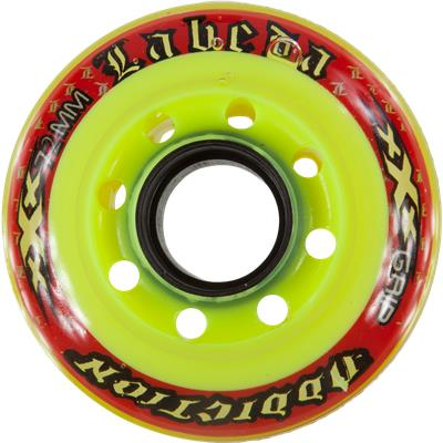 Yellow/Red (Labeda Addiction Inline Wheel)