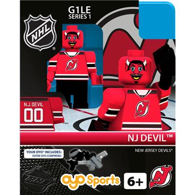 NJ Devil (OYO Sports NHL Mascots G1 Mini Figures)