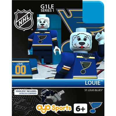 Louie the Bear (OYO Sports NHL Mascots G1 Mini Figures)