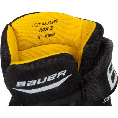 Liner View (Bauer Supreme TotalOne MX3 Hockey Gloves)