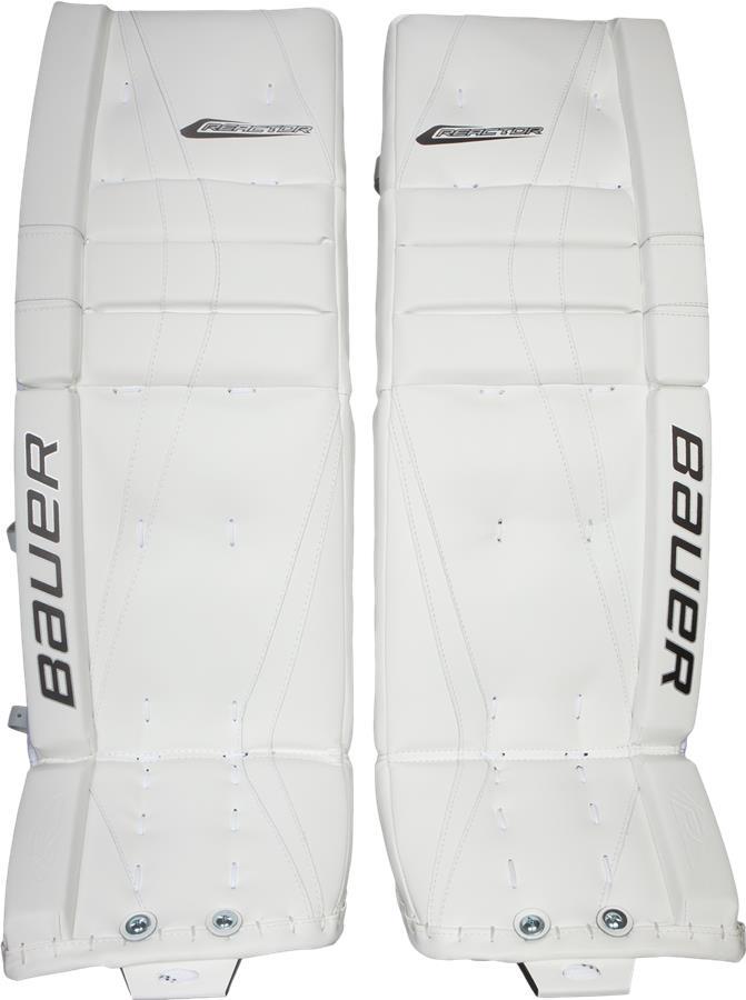 d8fbaaa9016 White (Bauer Reactor 7000 Goalie Leg Pads - Senior)