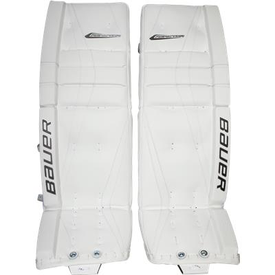 White (Bauer Reactor 7000 Goalie Leg Pads)