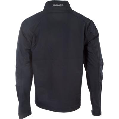Back View (Bauer Team Softshell Full-Zip Jacket)