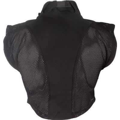 Back View (CCM Goalie Shirt Throat Collar)