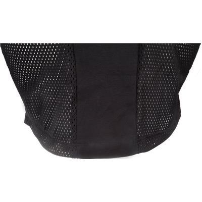 Zoomed Back View (CCM Goalie Shirt Throat Collar)