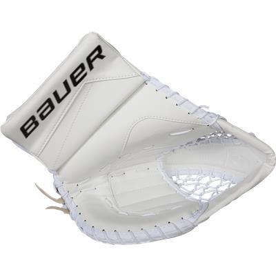 White (Bauer Reactor 5000 Goalie Catch Glove)