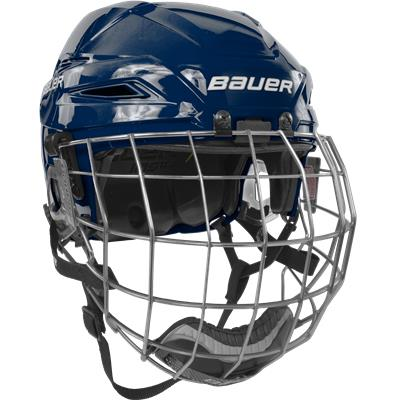 Navy/Navy (Bauer IMS 11.0 Hockey Helmet Combo)
